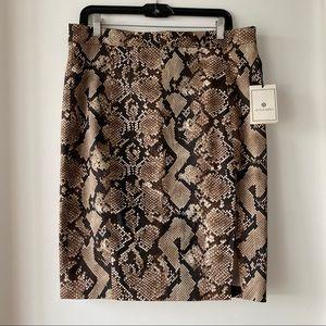 NWT Altuzarra Snake Skirt